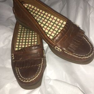 Sperry Topsider Penny Loafer Deck Shoes